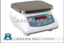 JWP-上海鼎拓电子秤=国家达标产品=10公斤不锈钢防水电子桌秤
