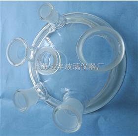 标准型六口玻璃反应盖