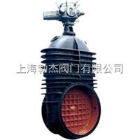 Z945X-10 型鑄鐵電動暗桿軟密封閘閥