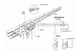 供应柔性一体式滑线,专业生产柔性一体式滑线厂家,