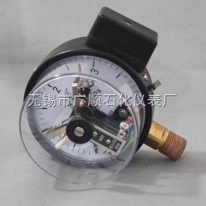 普通磁助电接点压力表