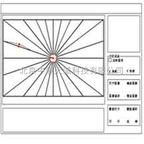 电脑车镜歪率测试仪 型号:ZH10055