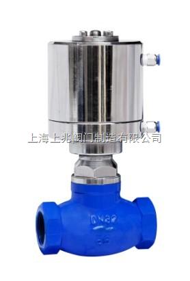 JDQ11Y,内螺纹气动程控切断阀,液氨丝扣气动切断阀