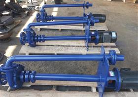 NL型立式不锈钢泥浆泵双管液下泥浆泵