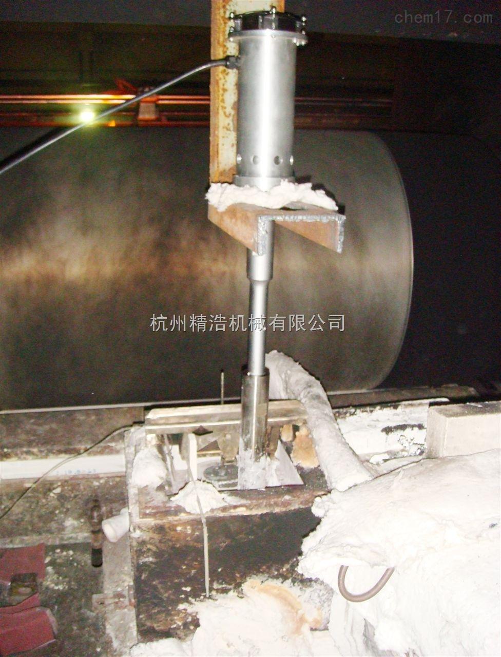 工厂超声波铝熔体晶粒分散机
