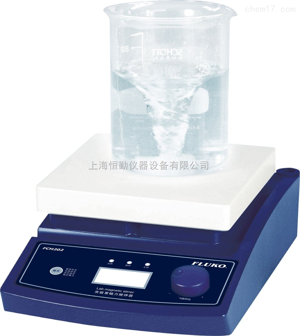 数显加热磁力搅拌器FCH202