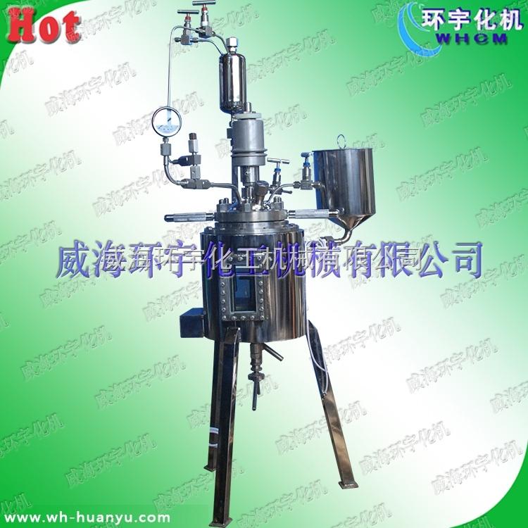 0.5L耐压玻璃反应釜