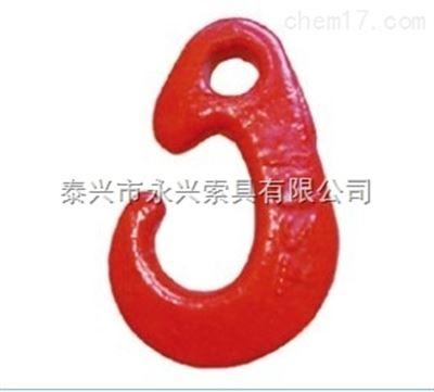 起重吊钩系列:鼻形钩技术参数