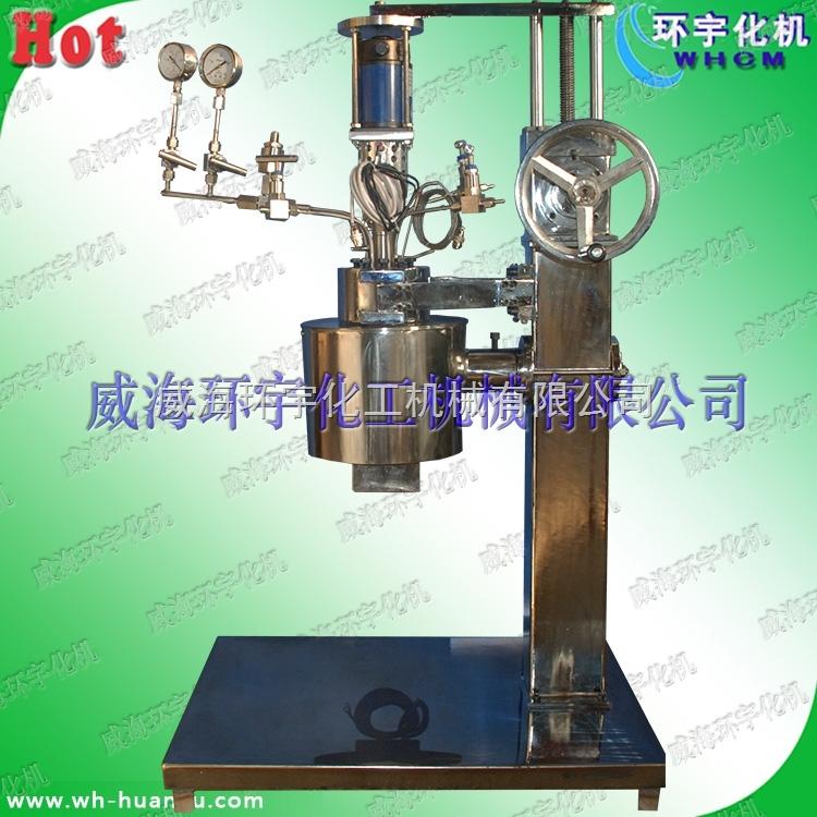 5L高压电动升降不锈钢磁力反应釜