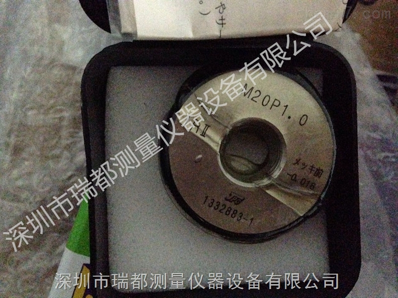 日本JPG环规M20*1.0-4h GRNR 光面环规现货