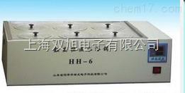 数显恒温HH-6水浴锅单列六孔