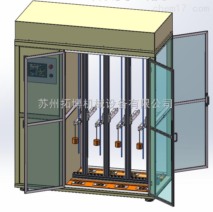 TH-5812B 纵列式电线扭转试验机