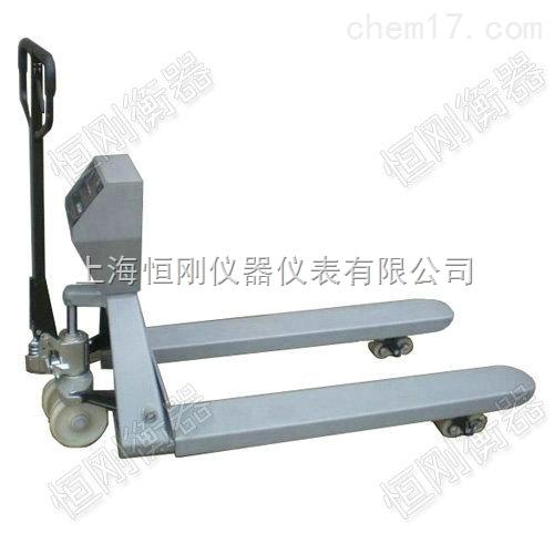 不锈钢液压车秤 液压防爆叉车电子秤