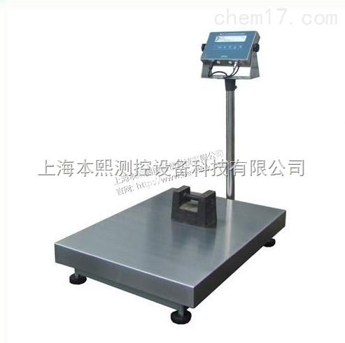 六百公斤电子秤600KG工业台秤分度值