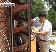实验选矿设备φ400型玻璃钢螺旋溜槽