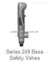 BESA安全阀249CR,DN20/PN16不锈钢