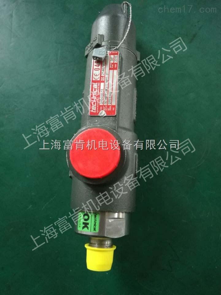 TECHNICAL安全阀型号240-050-12现货