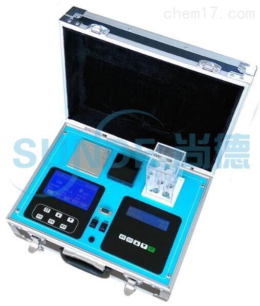 野外应急便携式水质五合一多参数检测仪(COD、氨氮、总磷、总氮、浊度)