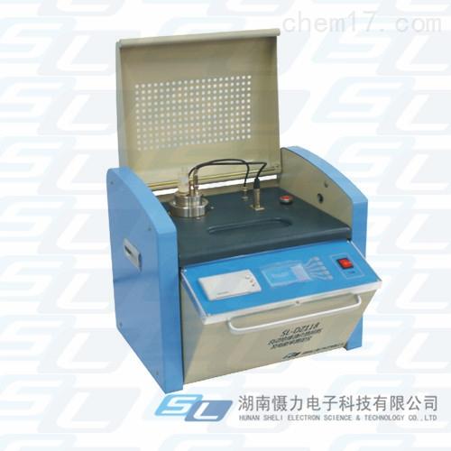 自动绝缘油介质损耗及电阻率测定仪
