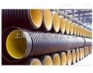 PE钢带增强聚乙烯 螺旋波纹管材 PE螺旋波纹管材