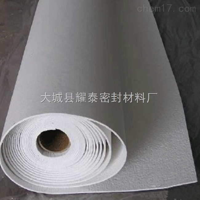 硅酸铝陶瓷纤维纸耐火隔热纸