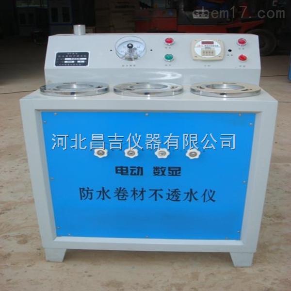 上海电动数显防水卷材不透水测定仪