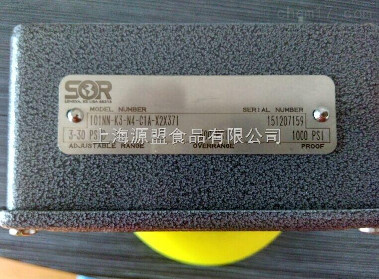 SOR开关101NN-K3-N4-C1A-X2X371原装现货