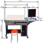 YUY-R06全钢结构多功能电脑绘图桌|工程制图实验室设备