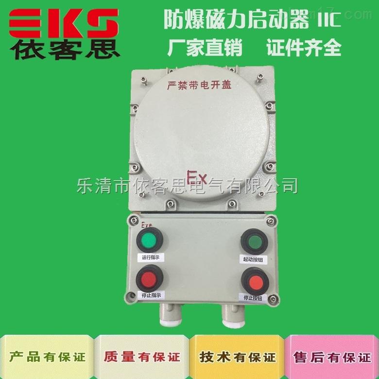 防爆磁力启动器BAC53控制380V电机防爆箱