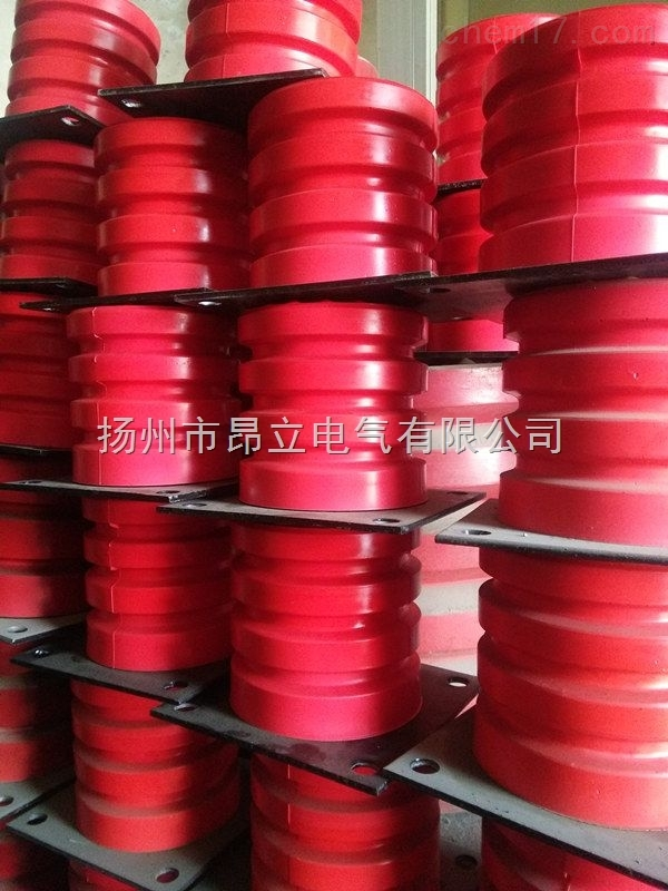 JHQ-C-6型聚氨酯缓冲器,带铁板底座