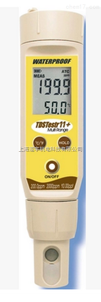 Eutech优特ECTestr11+笔式电导率仪