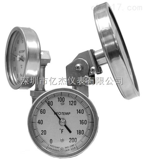 REOTEMP温度计工业双金属温度计万向温度计多向温度计