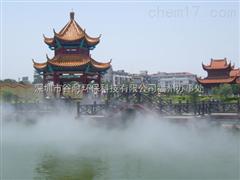 佛山人工湖泊喷雾造景工程人造景