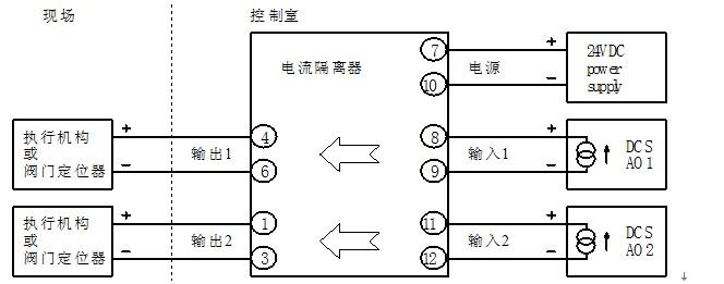 xp1511e电流隔离器(输出型)
