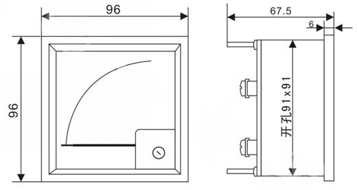 5 pt变比 满量程 经电压互感器pt接入(二次电压为100v) kv 380v/100v