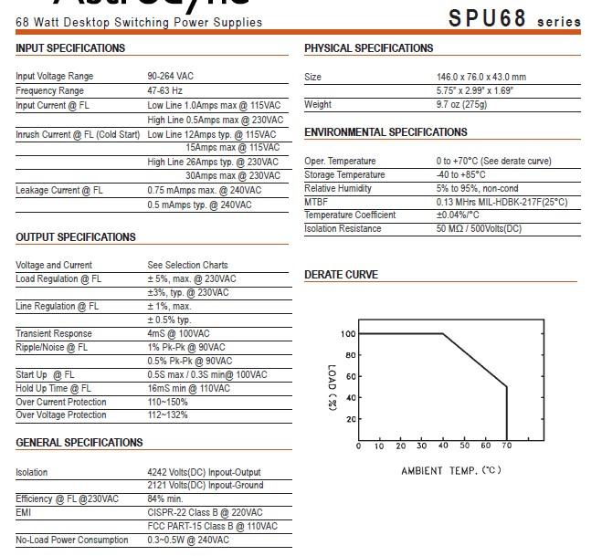 产品展厅 配件耗材 电源设备 交/直流稳压电源 spu68-105,spu68-108