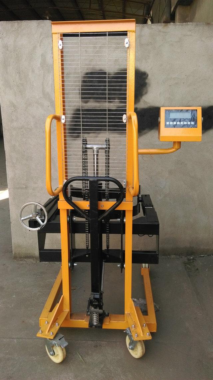 上海可倾式油桶车电子称