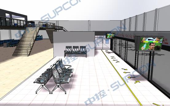 轨道交通车站与综合监控实训系统