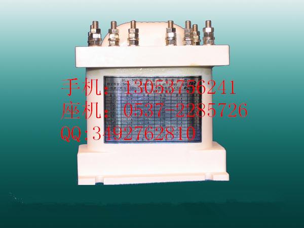 轨道变压器是铁路信号联动专用变压器,它将轨道电路中的220v/60hz