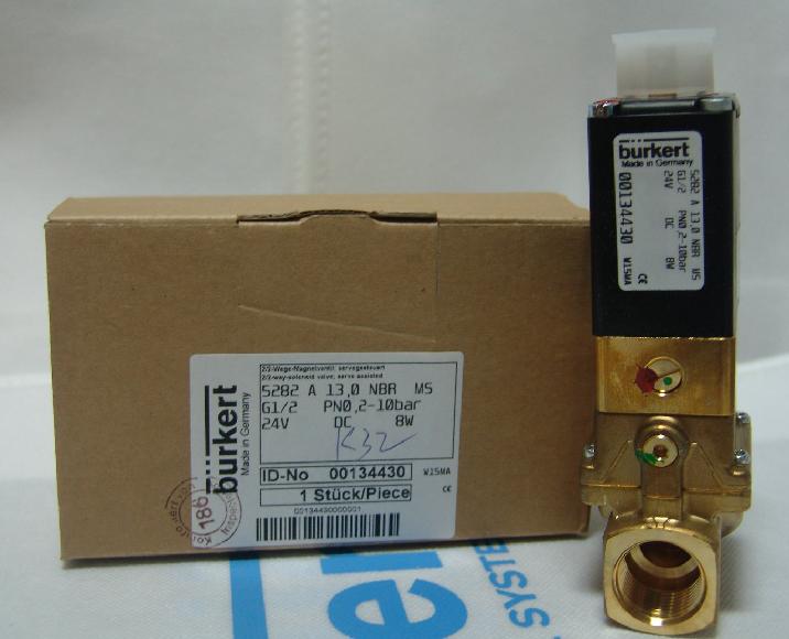 产品特点: 伺服辅助式隔膜电磁阀,最大通径 dn 50 固定耦合的隔膜