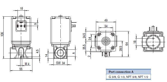 burkert比例阀基本上全是24v直流电,burkert比例阀24v有控制大流量的