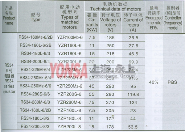 yzr225m8电阻器接线图