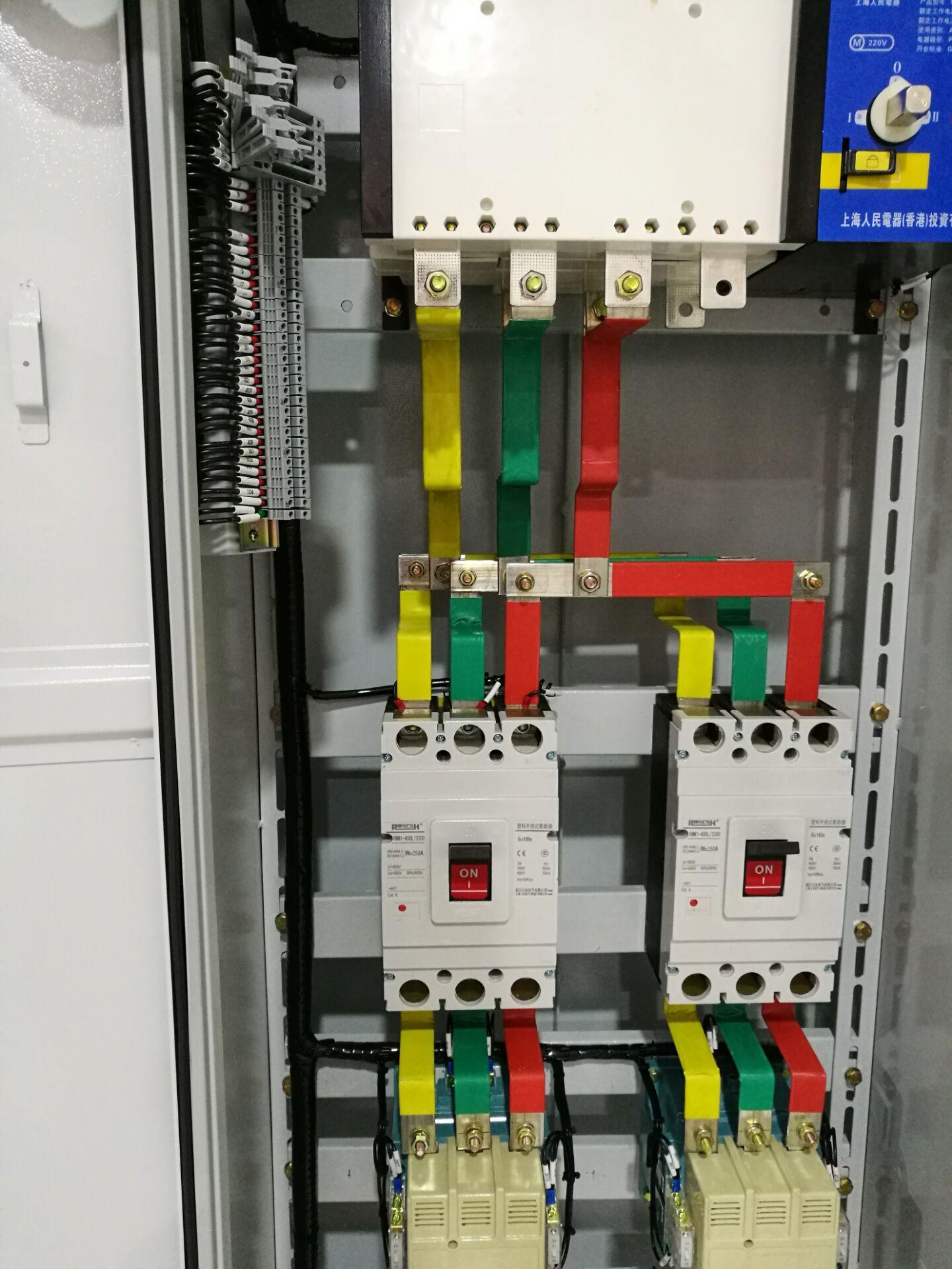 高低压成套配电柜内部接线一定要合理.