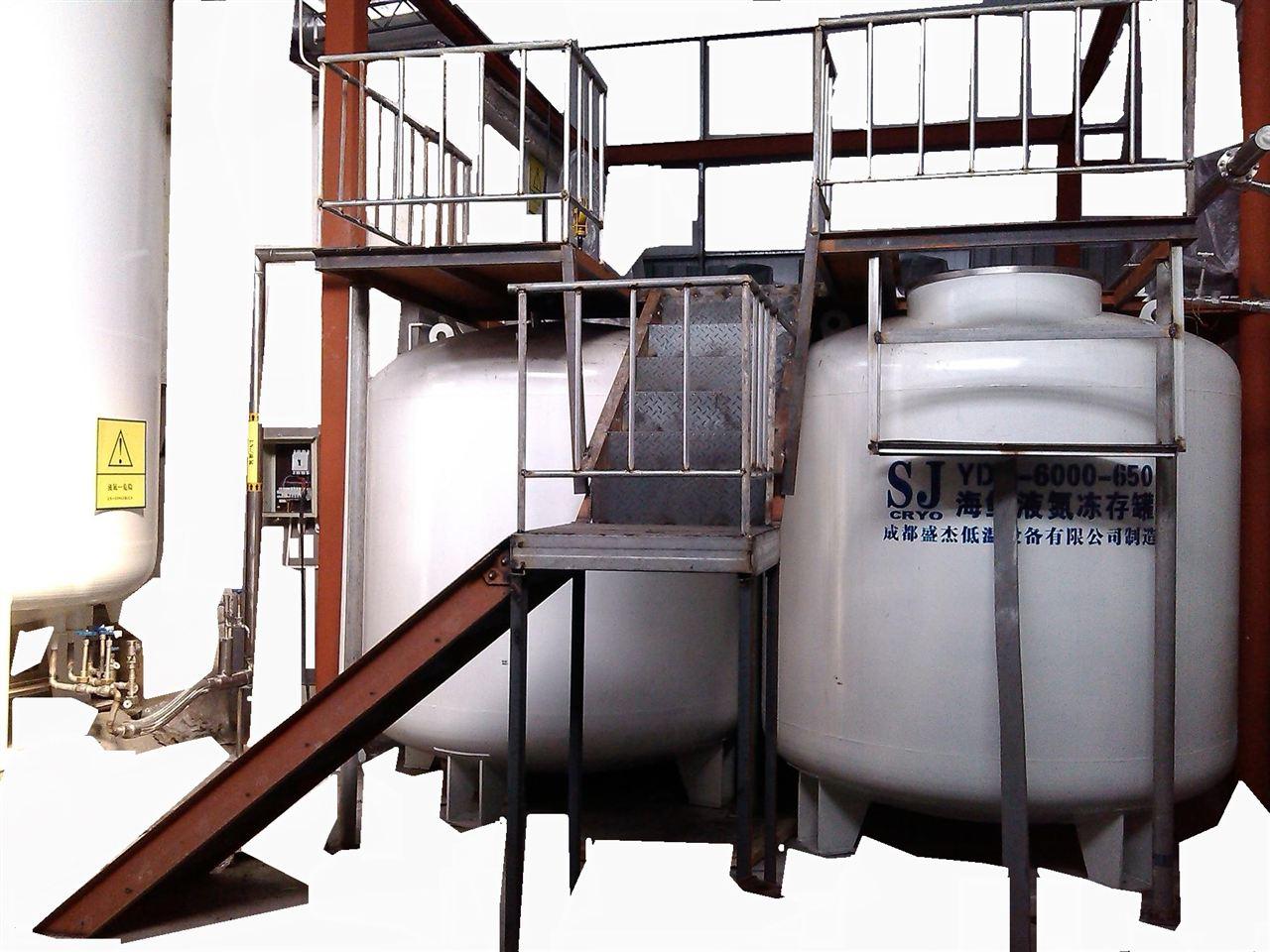 海鲜液氮罐YDS-6000-650