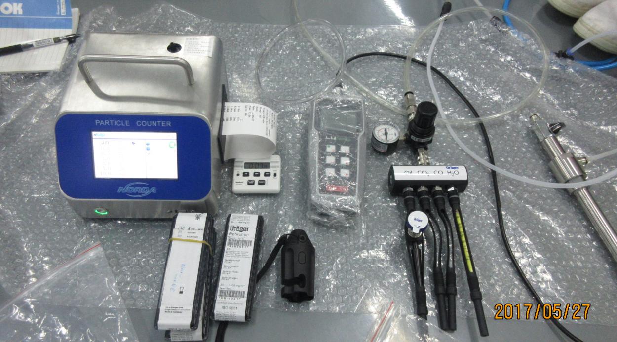 压缩空气质量检测设备