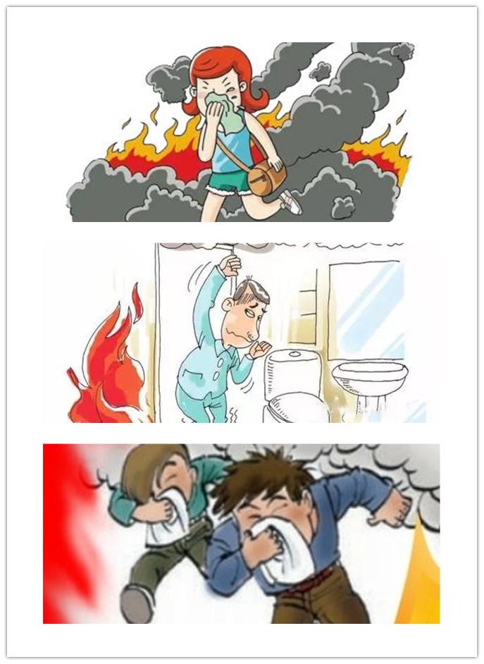 消防逃生方法