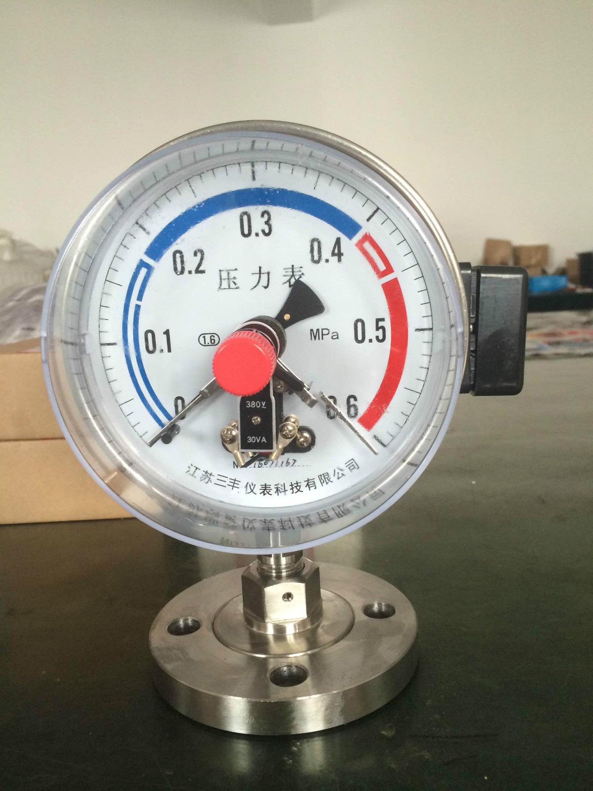 YTP-100ML隔膜压力表