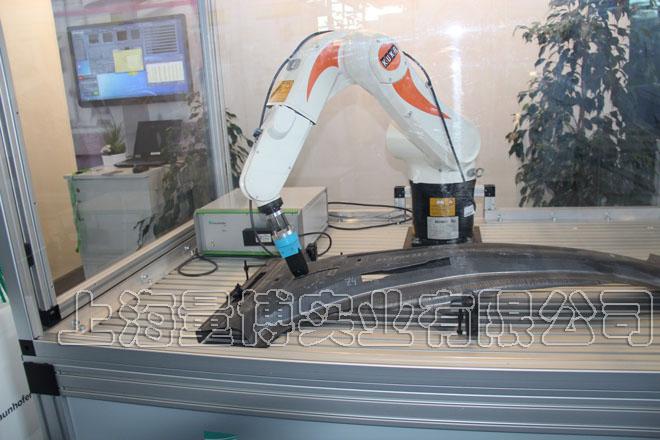 全自动热成形部件机械性能无损测量系统