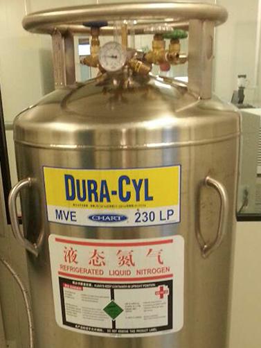 MVE chart  230LP液氮罐