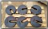 (秤砣式)5kg铸铁砝码-C字形状
